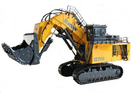 XCMG Excavator XE7000 Face Shovel Tracked Excavator
